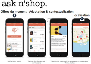 Exemple application Asknshop